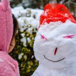 雪だるまと遭遇
