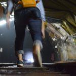 池島炭鉱坑内体験ツアー
