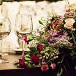 ウェディングテーブル装花