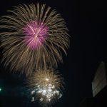 オールドレンズで打ち上げ花火