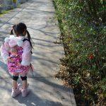 メルちゃんと散歩